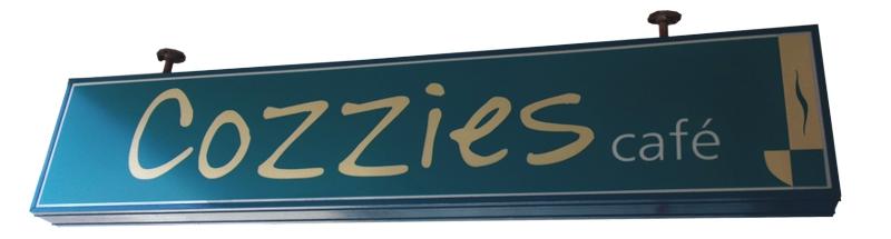 Cozzies Cafe Vectordesign